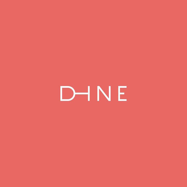 Clever Typographic Logos - Dine