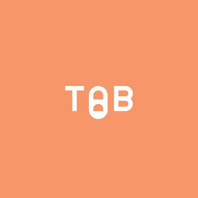 Clever Typographic Logos - Tab
