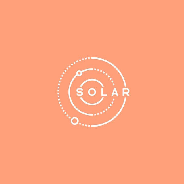 Clever Typographic Logos - Solar