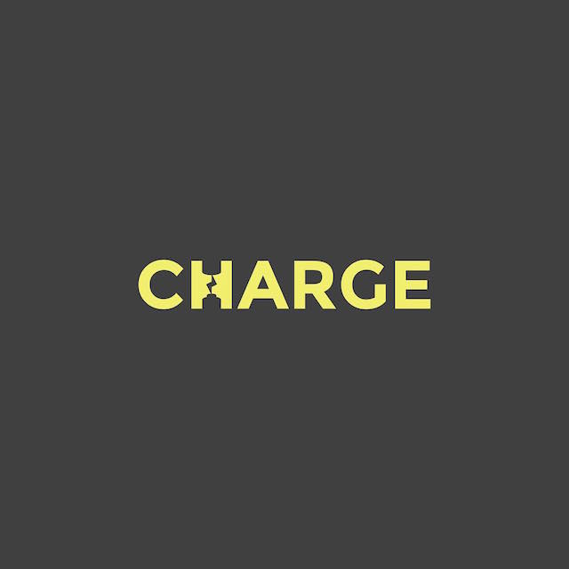 Clever Typographic Logos - Charge