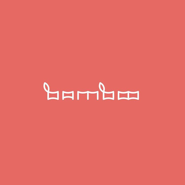 Clever Typographic Logos - Bamboo