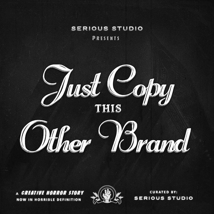 Just copy this other brand