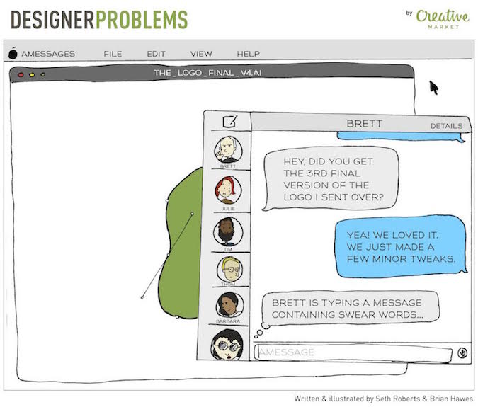 Designer Problems - Design changes