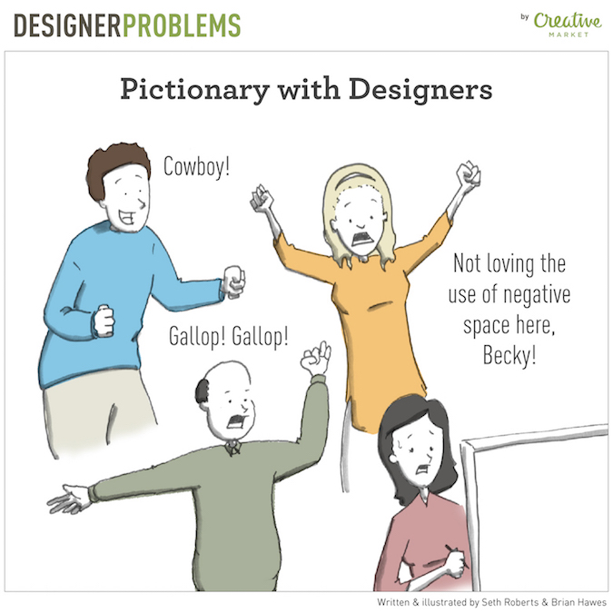 Designer Problems - Pictionary