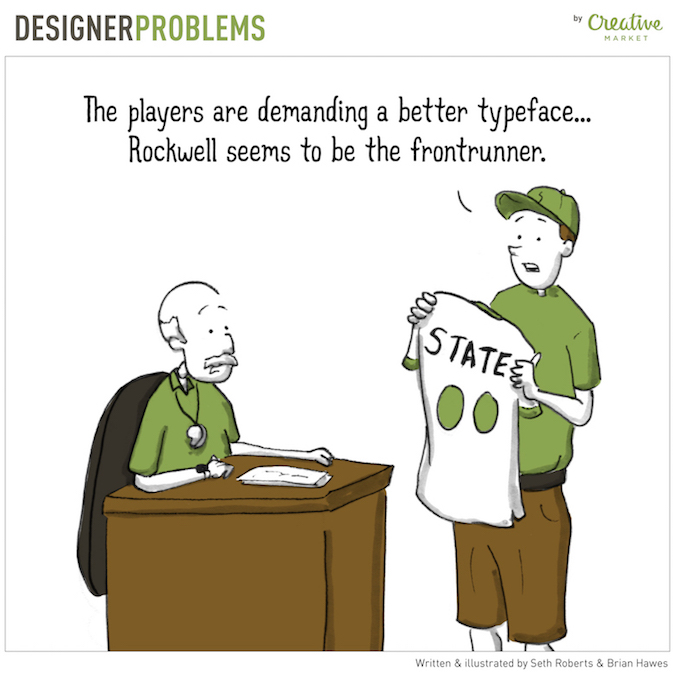 Designer Problems - Better fonts