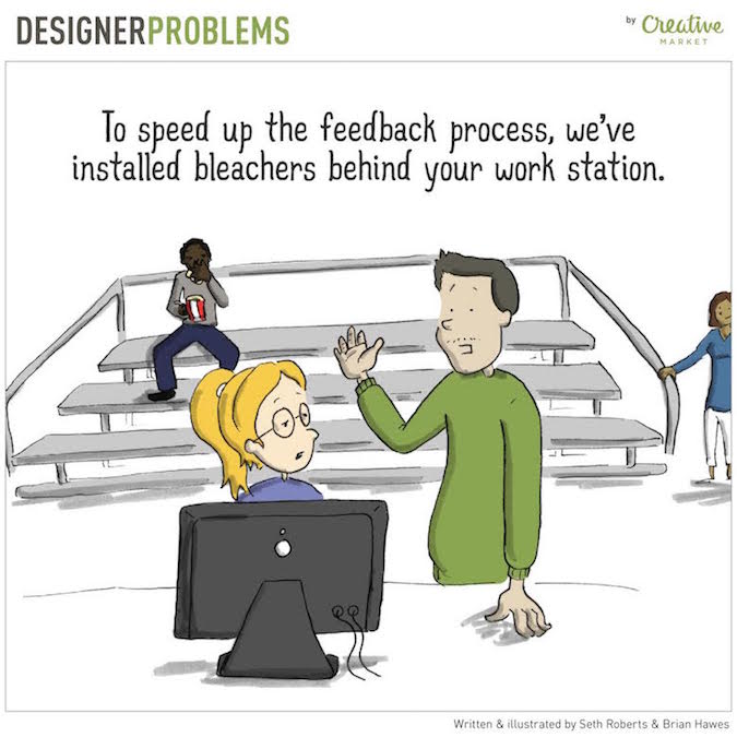 Designer Problems - People behind workstation
