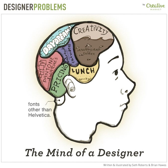 Designer Problems - Too much in the head