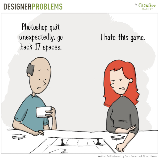 Designer Problems - Photoshop Game