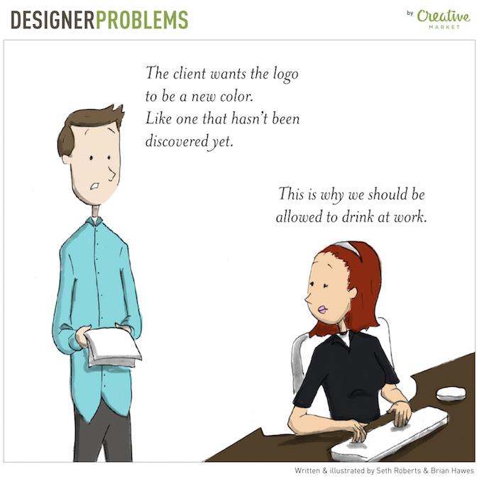 Designer Problems - Logos