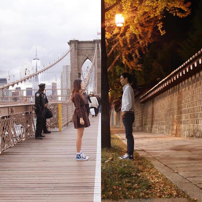 Shin Li long distance relationship photos - 9