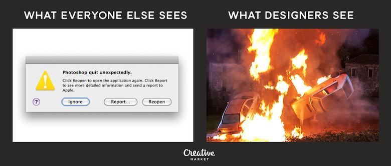 What designers see vs. everyone else - 1