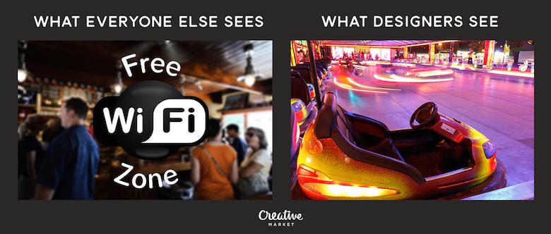 What designers see vs. everyone else - 2