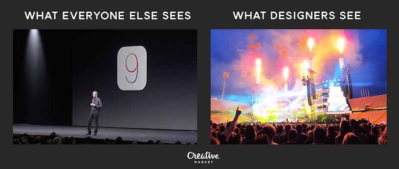 What designers see vs. everyone else - 8