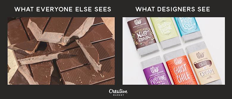 What designers see vs. everyone else - 9