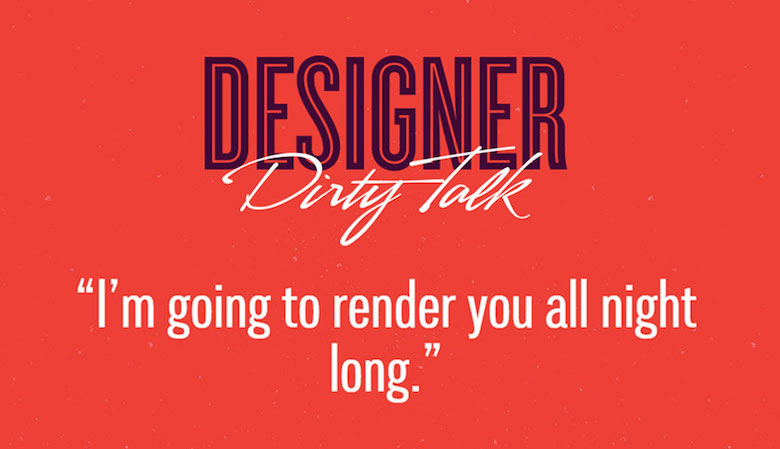 Designer Dirty Talk - 1