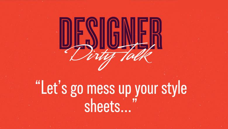 Designer Dirty Talk - 19
