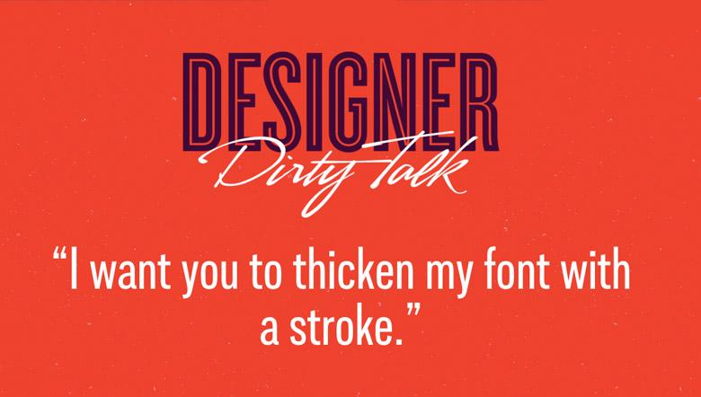 Designer Dirty Talk - 20
