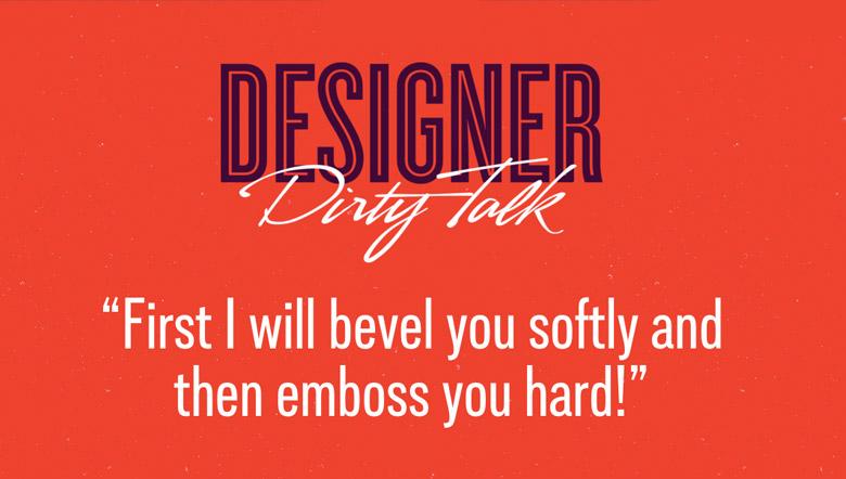 Designer Dirty Talk - 21