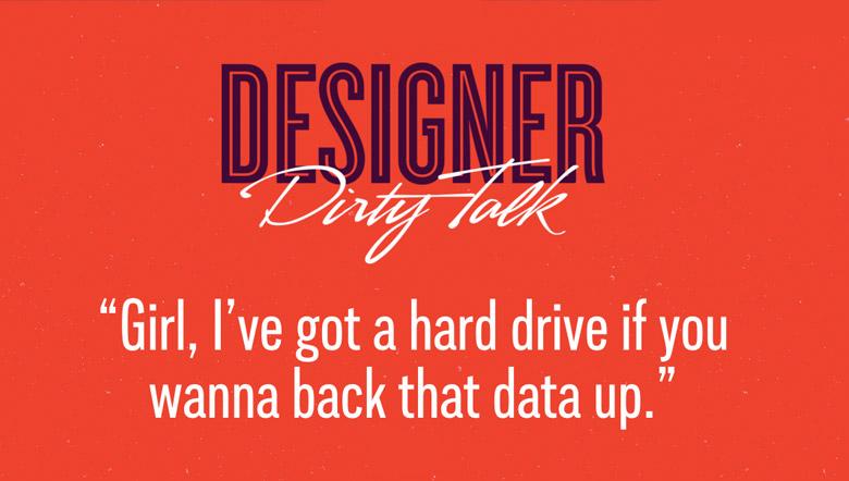 Designer Dirty Talk - 31