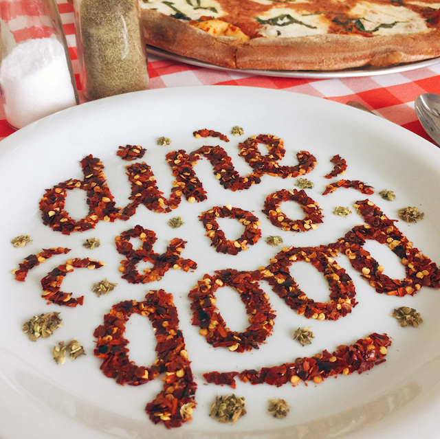 Food art and typography - 10