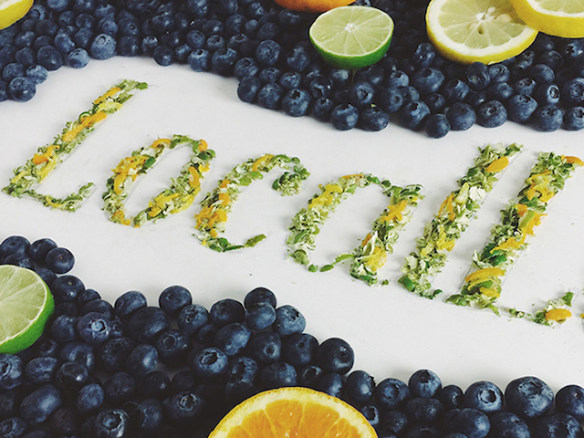 Food art and typography - 18