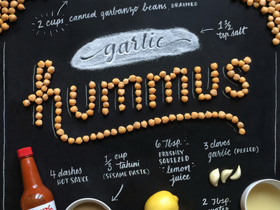 Food art and typography - 21