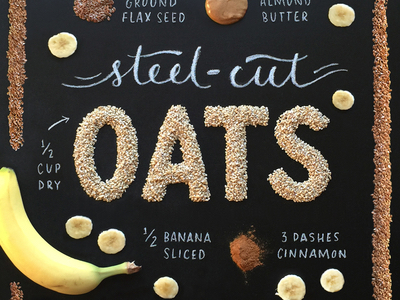 Food art and typography - 22
