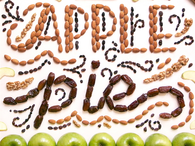 Food art and typography - 23