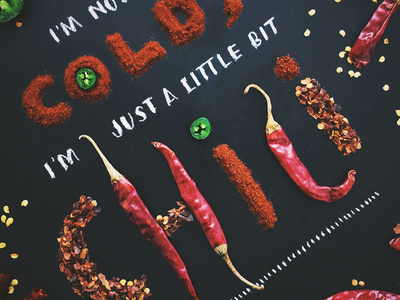 Food art and typography - 24