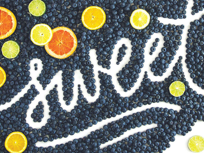 Food art and typography - 28
