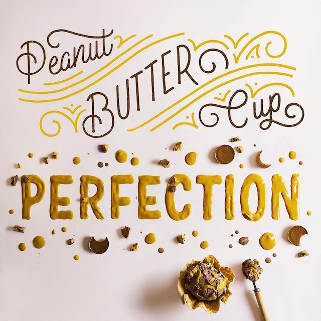 Food art and typography - 5