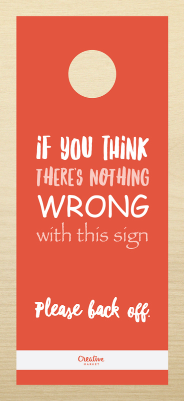 10 Signs Every Designer Needs To Hang Outside His Her Office