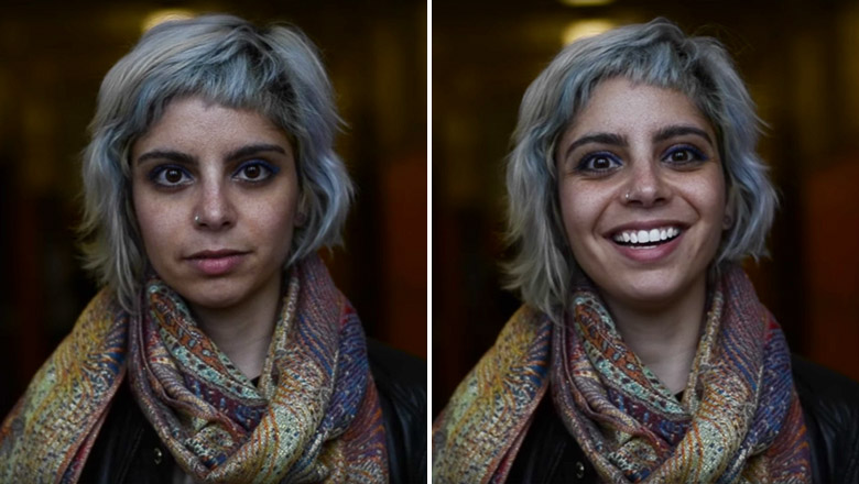 People react to being called beautiful - 1