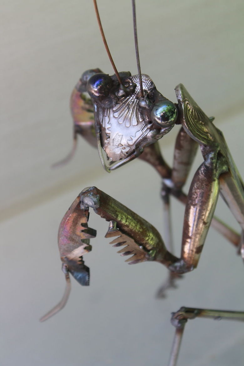 Scrap Metal Animal Sculptures - 13b