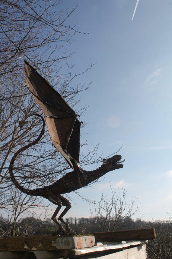 Scrap Metal Animal Sculptures - 3