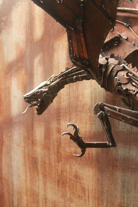 Scrap Metal Animal Sculptures - 3b