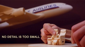 Watch This Talented Paper Artist Create An Incredibly Detailed Model Of An Airbus A380