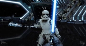 Turn Your Phone Into A Lightsaber With This Mind-Blowing Google Chrome Experiment