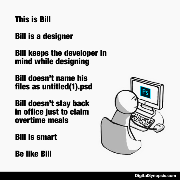 Be like Bill: Ad agency version - Designer