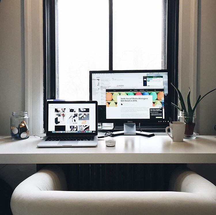 Beautiful Home Office Ideas: 42 Beautiful, Minimal Workstations For Your Inspiration