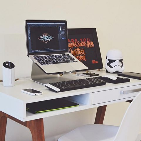 beautiful desks minimal workstations