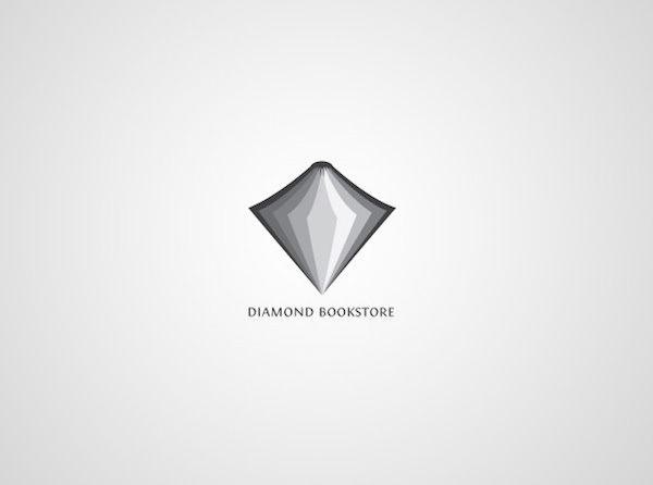 Clever and creative logos with hidden meanings and symbolism - Diamond Bookstore