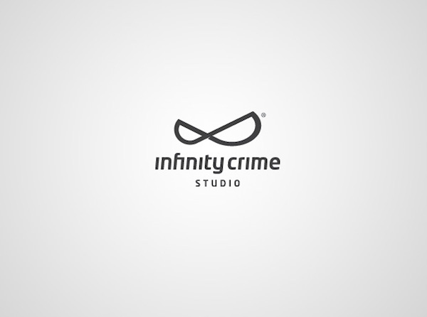 Clever and creative logos with hidden meanings and symbolism - Infinity Crime Studio