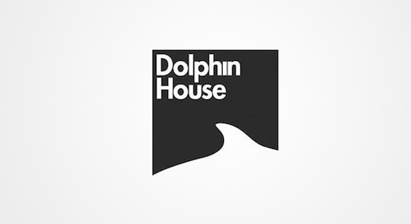 Clever and creative logos with hidden meanings and symbolism - Dolphin House