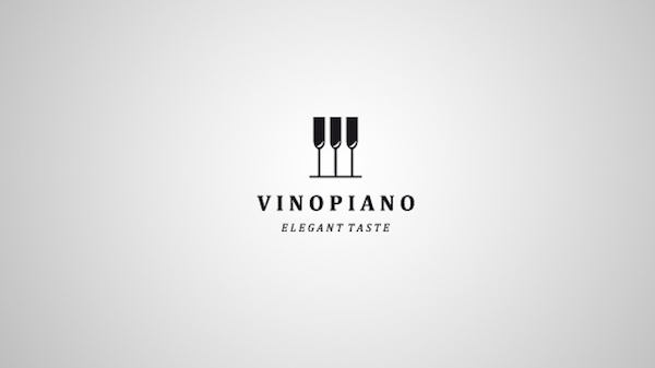 Clever and creative logos with hidden meanings and symbolism - VinoPiano