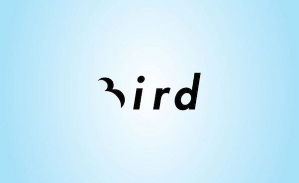 Clever and creative logos with hidden meanings and symbolism - Bird