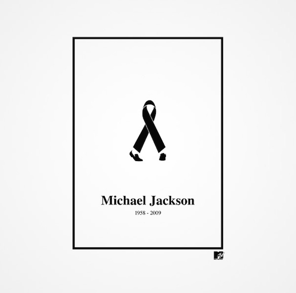 Clever and creative logos with hidden meanings and symbolism - Michael Jackson (MTV)