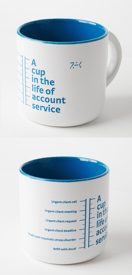 A cup in the life of account-service