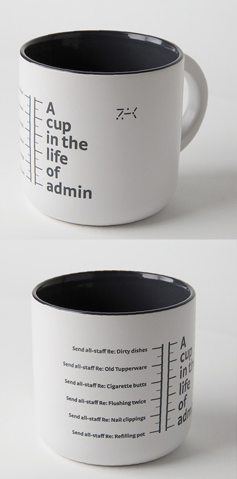 A cup in the life of admin