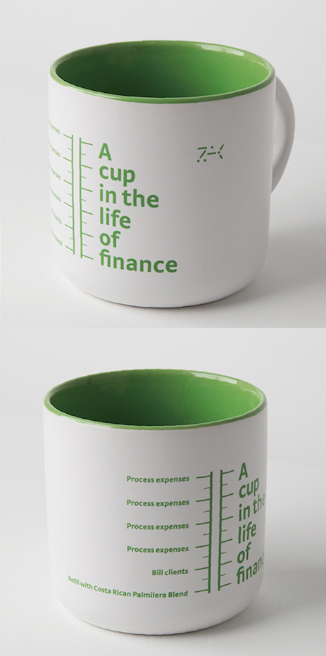 A cup in the life of finance